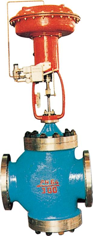 气动薄膜低、常、中、温单(双)座调节阀