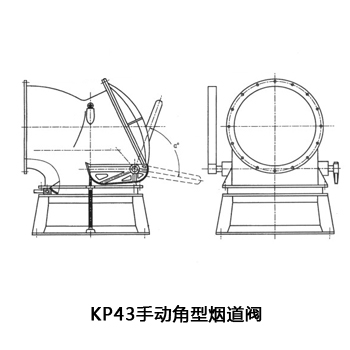 KP43盘式阀