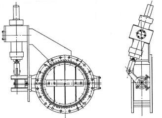 KKD743W-2.5 液动旁通快开阀